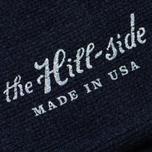 Мужские носки The Hill-Side Merino Wool Ragg Navy фото- 2