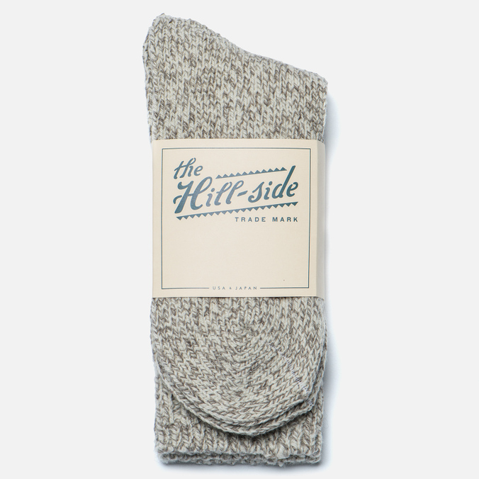 Мужские носки The Hill-Side Merino Wool Ragg Oatmeal