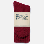 Мужские носки The Hill-Side Merino Wool Ragg Red фото- 0