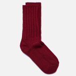 Мужские носки The Hill-Side Merino Wool Ragg Red фото- 1