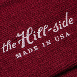 Мужские носки The Hill-Side Merino Wool Ragg Red фото- 2