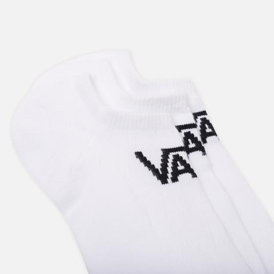 Носки Vans Classic Kick Large 3-Pack White