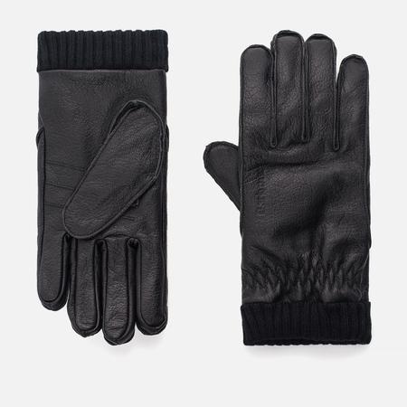 Мужские перчатки Barbour Barrow Leather Black