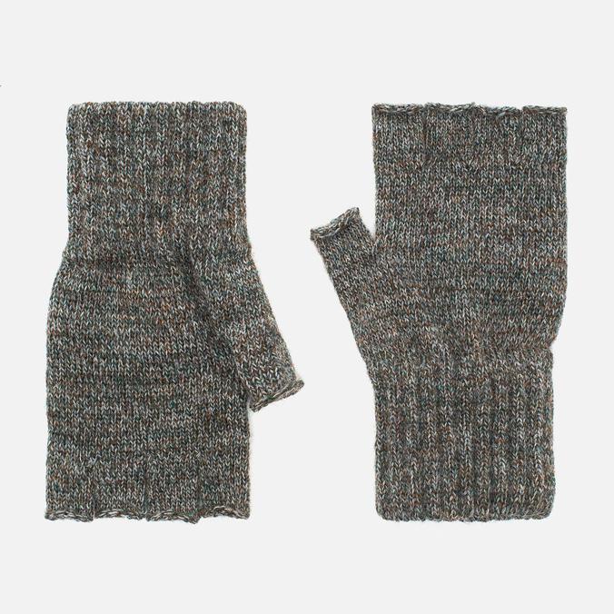 Мужские перчатки Barbour Fingerless Green