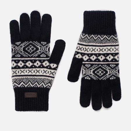 Мужские перчатки Barbour Gisburne Navy