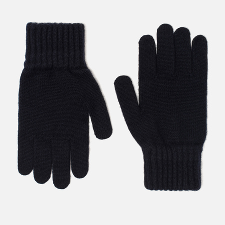 Мужские перчатки Barbour Lambswool Navy