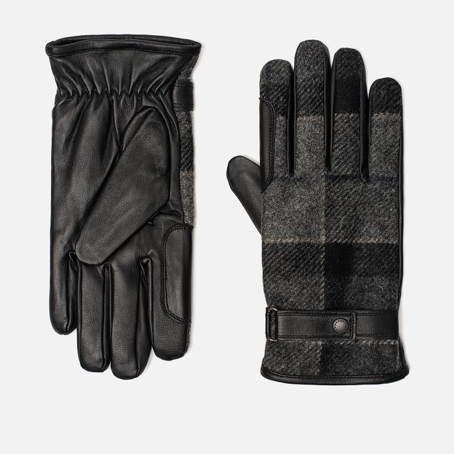 Перчатки Barbour Newbrough Black/Grey