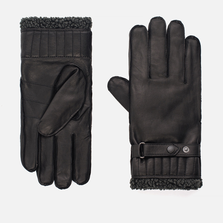 Мужские перчатки Barbour Tindale Leather Black