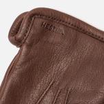 Мужские перчатки Hestra Andrew Chocolate фото- 1