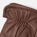 Мужские перчатки Hestra Andrew Chocolate фото- 2