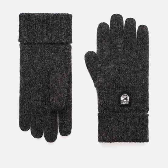 Мужские перчатки Hestra Basic Wool Charcoal