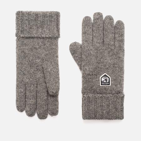 Мужские перчатки Hestra Basic Wool Grey