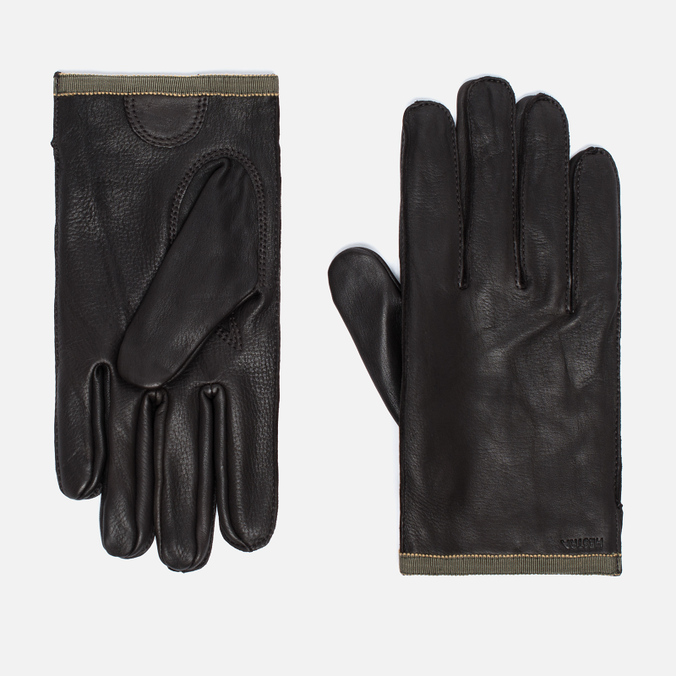 Мужские перчатки Hestra Daniel Dark Brown