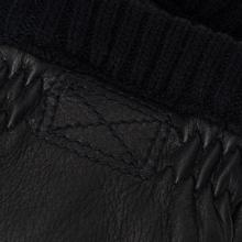Мужские перчатки Hestra Deerskin Primaloft Ribbed Black фото- 2