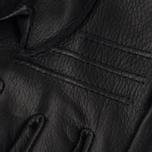 Мужские перчатки Hestra Deerskin Primaloft Ribbed Black фото- 3