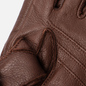 Мужские перчатки Hestra Deerskin Primaloft Ribbed Chocolate фото - 3