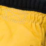Мужские перчатки Hestra Deerskin Primaloft Ribbed Yellow фото- 2