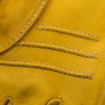 Мужские перчатки Hestra Deerskin Primaloft Ribbed Yellow фото- 1