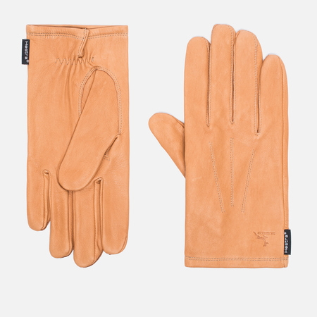 Hestra Deerskin Silk Lined Men's Gloves Cork