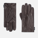Мужские перчатки Hestra Deerskin Silk Lined Dark Brown фото- 0
