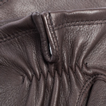 Мужские перчатки Hestra Deerskin Silk Lined Dark Brown фото- 2