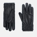 Мужские перчатки Hestra Deerskin Swisswool Rib Cuff Black фото- 0