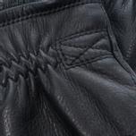 Мужские перчатки Hestra Deerskin Swisswool Rib Cuff Black фото- 2
