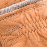 Мужские перчатки Hestra Deerskin Swisswool Rib Cuff Cork фото- 2