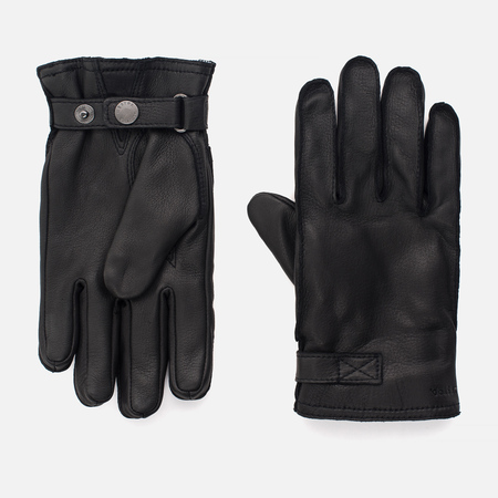 Мужские перчатки Hestra Deerskin Wool Terry Black