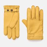 Мужские перчатки Hestra Deerskin Wool Terry Natural Yellow фото- 0