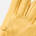 Мужские перчатки Hestra Deerskin Wool Terry Natural Yellow фото- 3