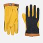 Мужские перчатки Hestra Deerskin Wool Tricot Grey/Yellow фото - 0