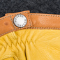 Мужские перчатки Hestra Deerskin Wool Tricot Grey/Yellow фото - 1