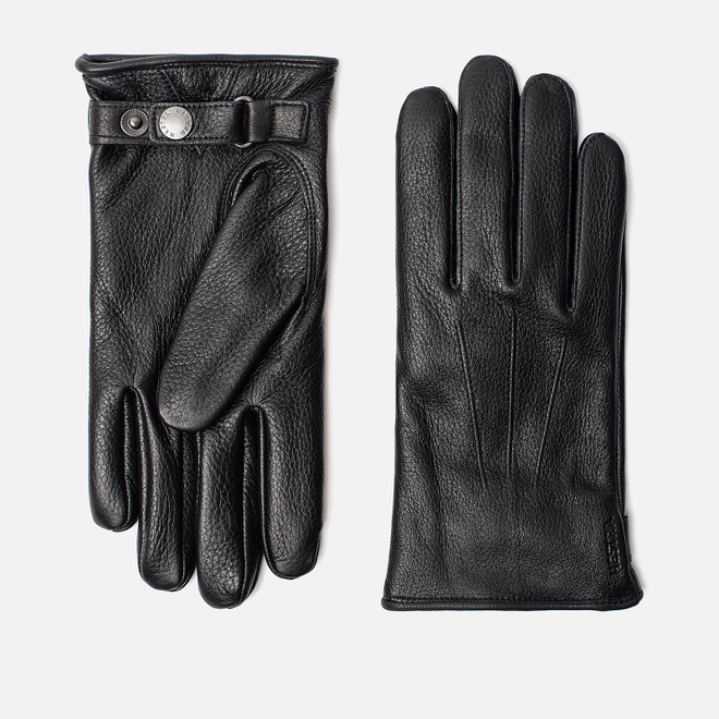 Мужские перчатки Hestra Eldner Black
