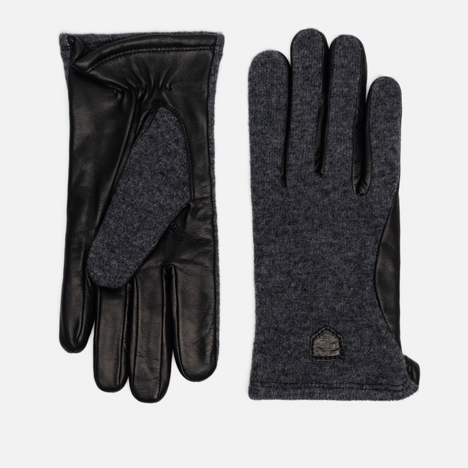 Мужские перчатки Hestra Hairsheep Wool Tricot Charocoal/Black