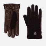 Hestra Hairsheep Wool Tricot Men's Gloves Espresso/Dark Brown photo- 0