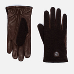 Мужские перчатки Hestra Hairsheep Wool Tricot Espresso/Dark Brown фото- 0