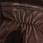 Hestra Hairsheep Wool Tricot Men's Gloves Espresso/Dark Brown photo- 2