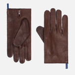 Мужские перчатки Hestra Jacob Chestnut фото- 0
