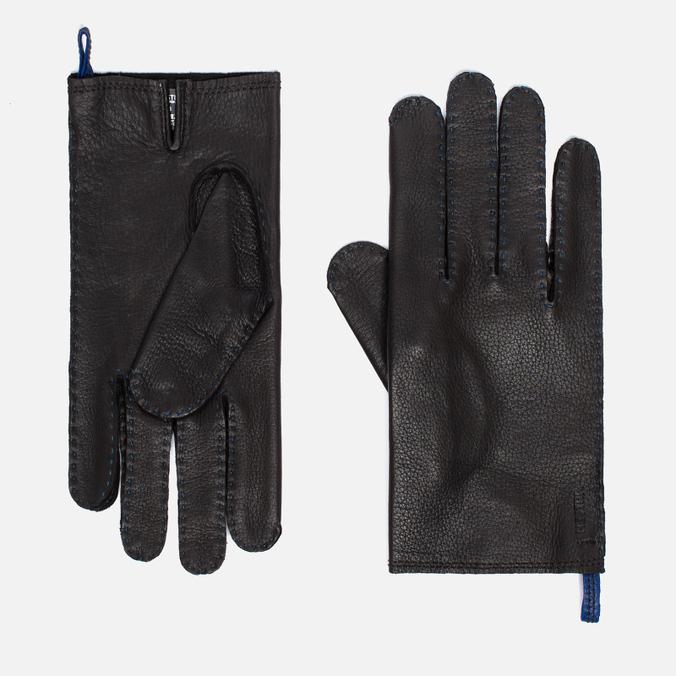 Мужские перчатки Hestra Jacob Dark Brown