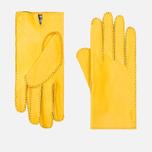 Мужские перчатки Hestra Jacob Yellow фото- 0