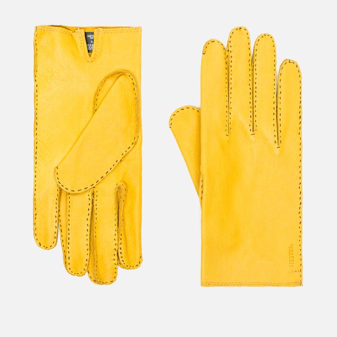 Мужские перчатки Hestra Jacob Yellow