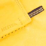 Мужские перчатки Hestra Jacob Yellow фото- 1