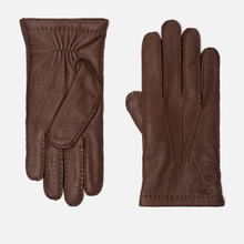 Мужские перчатки Hestra Matthew Chocolate фото- 0