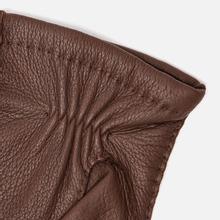 Мужские перчатки Hestra Matthew Chocolate фото- 2