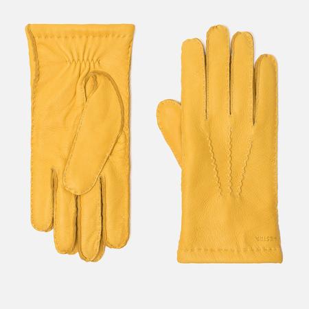 Мужские перчатки Hestra Matthew Natural Yellow