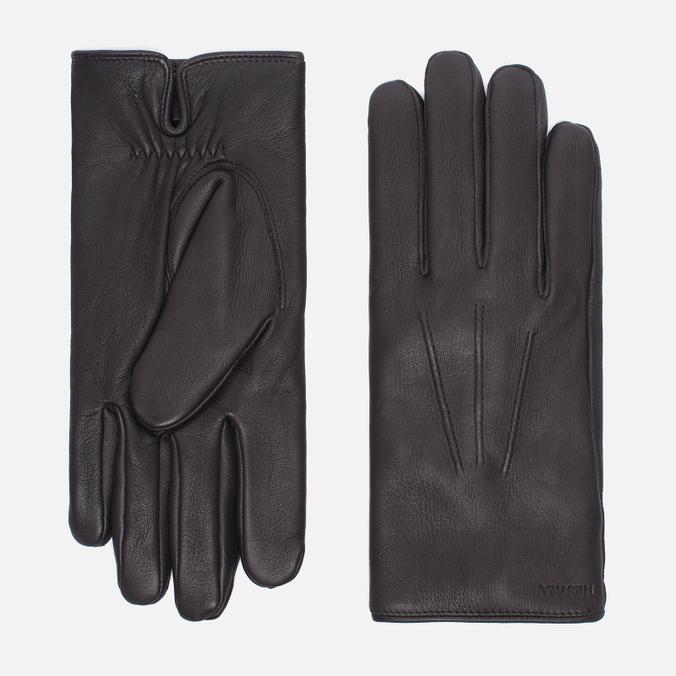 Мужские перчатки Hestra Norman Dark Brown