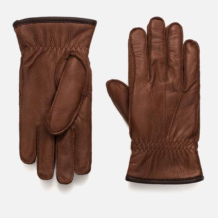 Мужские перчатки Hestra Ornberg Chestnut