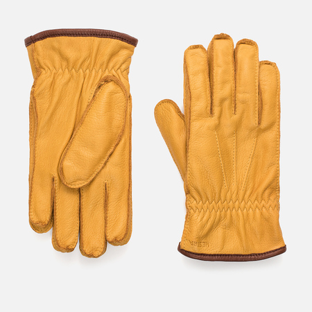 Мужские перчатки Hestra Ornberg Natural Yellow