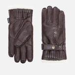 Мужские перчатки Hestra Orsa Dark Brown фото- 0